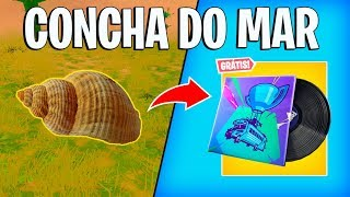 FORTNITE-LOCAL CONCHA DO MAR! ÉVÉNEMENT MUSICAL GRATUIT ÉTÉ!