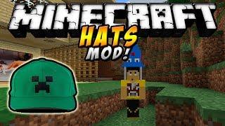 Minecraft - SOMBREROS MOD (Más de 150 sombreros!) - ESPAÑOL TUTORIAL