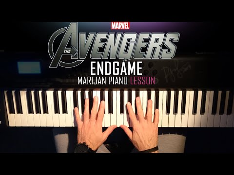 How To Play: Avengers - Endgame (Official Trailer 2 Music) | Piano Tutorial Lesson + Sheets thumbnail