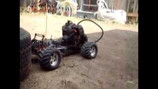 23cc T-Maxx THE WEED MAXX HOMEMADE WEEDEATER RC WARM UP