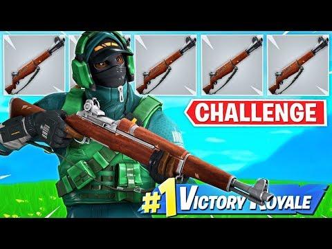 The WORST GUN *ONLY* CHALLENGE!