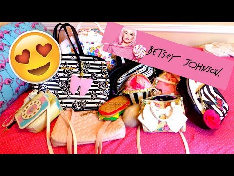 💞BETSEY JOHNSON BAG COLLECTION | Bianca Moonstone💞