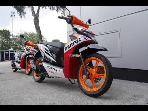 Honda New Beat eSP Repsol Honda  . . MotoGP Paddock Scooter