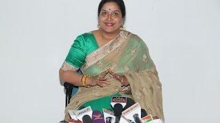 Actress Thulasi Press Meet