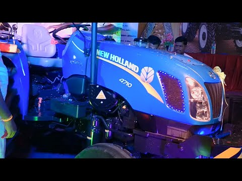 New Tractor Launch   new holland 4710 excel 2018 Model - Tractor farmer's feedback - Come to Village
