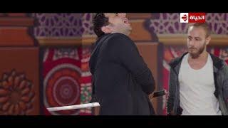 مصطفى خاطر يمثل مشهد على طريقة الأفلام الهندي.. مسخرة السنين#ربع_رومي 😂😂