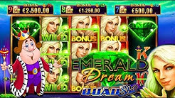 BIG WIN ⭐️ Emerald Dream 💚 POKIES 🎰 Slot Machine Ainsworth Slots Casino FREE SPINS BONUS €50 Bet