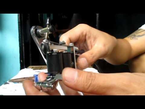 Huck spaulding rogers reaper tattoo machine youtube for Spaulding rogers tattoo