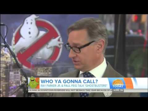 Ray Parker Jr. TODAY show interview and performance of 'Ghostbusters' theme song (October 7, 2016)