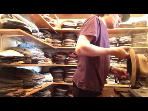 KEVIN FROM JJ HAT CENTER,clean & reshape       Anthony's vintage hat