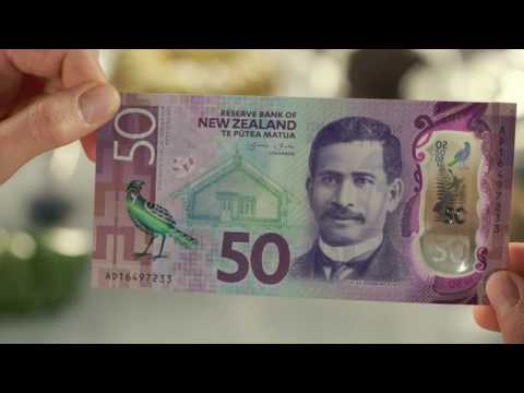 New Zealand's Brighter Money banknotes – security features - Te Reo Māori