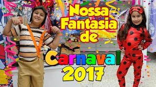 COMPRANDO MINHA FANTASIA DE CARNAVAL