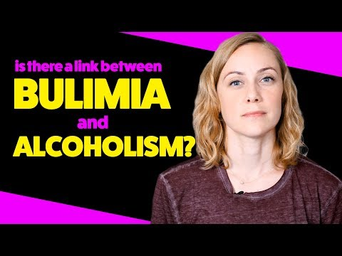 Is there a link between bulimia and alcoholism?