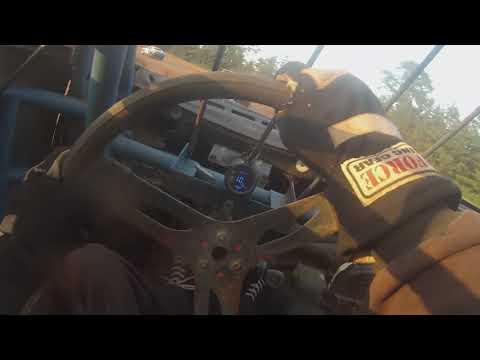 Elliott Helmet Camera 8-3-19 Heat Race Sumter Speedway