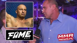 Przemysław Saleta o trzeciej walce z Najmanem i sukcesie Fame MMA