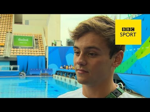 Tom Daley 'heartbroken' after shock diving exit - Olympic Games Rio 2016 - BBC Sport