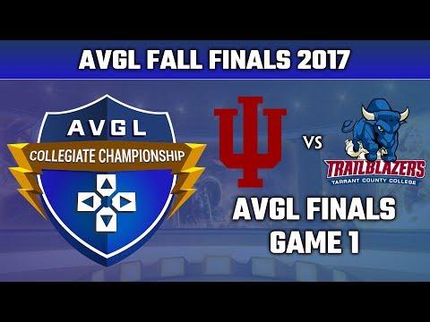 SMITE AVGL Fall Finals 2017 - Indiana University vs. Tarrant County (Game 1)