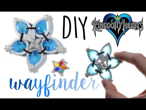 How to DIY Kingdom Hearts 3 Wayfinder Polymer Clay/Resin Tutorial