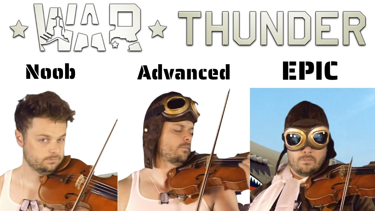 5 Levels of War Thunder Music: Noob to Epic