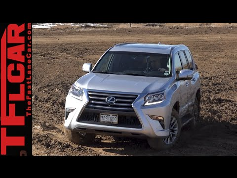 2015 Lexus GX460 Off-Road Muddy AWD Review: Technology vs Mud