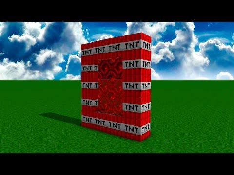 ПОРТАЛ В МАЙНКРАФТ В МИР TNT НОВОЕ ИЗМЕРЕНИЕ В МАЙНКРАФТ - Видео из Майнкрафт (Minecraft)