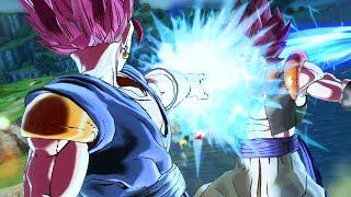 SSG VEGITO vs SSG GOGETA SIMULATION! CPU vs CPU! - Dragon Ball Xenoverse 2 Mods | Pungence