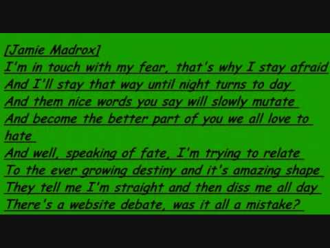 wondering why by. twiztid with lyrics in video