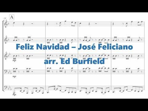 Feliz Navidad (Merry Christmas) - Brass Quintet Arrangement