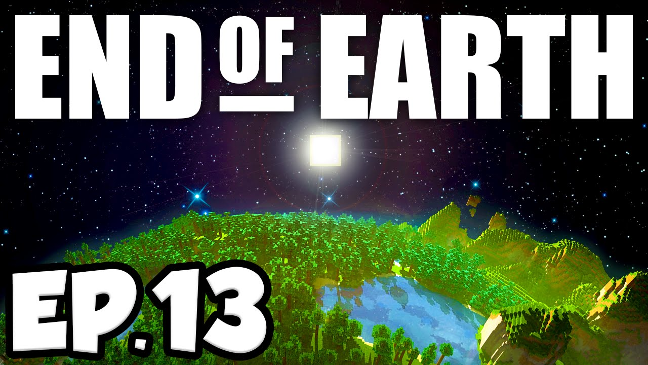 End of Earth: Minecraft Modded Survival Ep 13 - BUILDING A BASE!!! (Steve's  Galaxy Modpack)