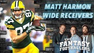 Early WR Rankings Part 2 + NFL.com's Matt Harmon Ep. #195 - The Fantasy Footballers