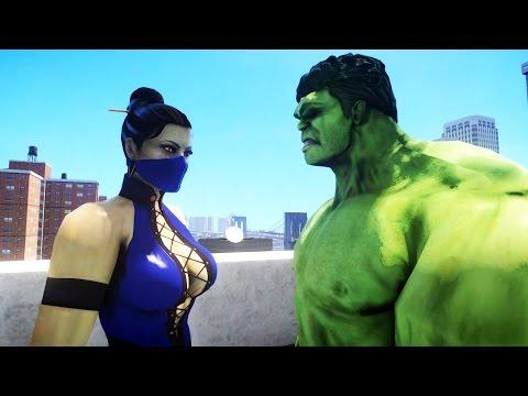 HULK VS KITANA (Mortal Kombat)