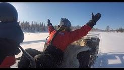 Snowmobile at Safari Ruka Kuusamo