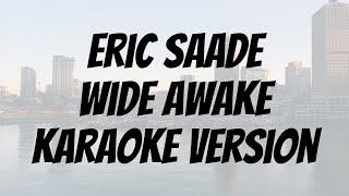 Eric Saade - Wide Awake karaoke version