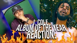HOLY FV*K! J. Cole Album Of The Year (Freestyle) REACTION!