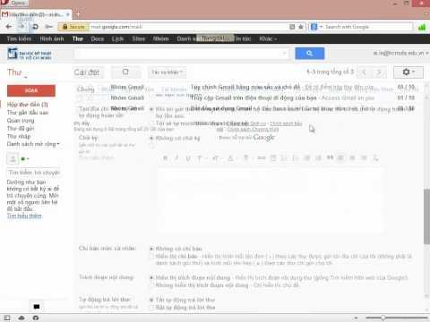 Hướng dẫn đăng nhập tài khoản email lần đầu