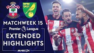 Southampton v. Norwich City | PREMIER LEAGUE HIGHLIGHTS | 12/04/19 | NBC Sports