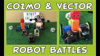 Cozmo & Vector the Robot | Return of Robot Battles