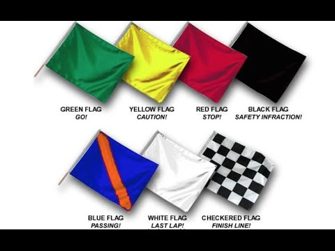 Race Marshal Flags - What They Mean