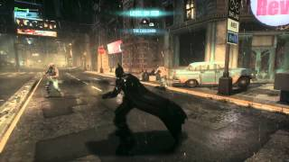 Batman  arkham knight ps4 free roam