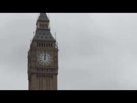 The last bongs of Big Ben for four years.
