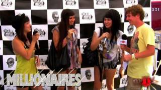 Millionaires Message To Haters - Warped Tour '09 BVTV