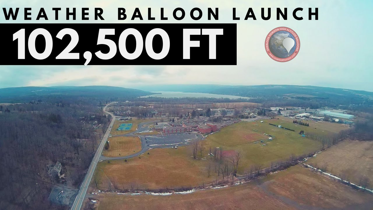 Altitude Rochester Ny >> GoPro High Altitude Weather Balloon Launch - YouTube