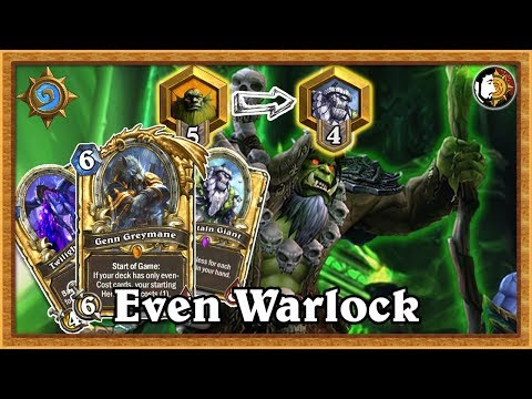 Hearthstone: Rank 5 To 4 Forever - Even Warlock