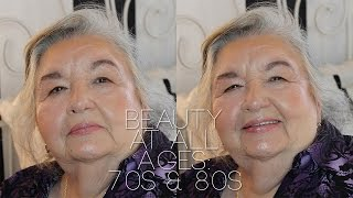 beauty at all ages makeup tutorial for women in their 70s 80s