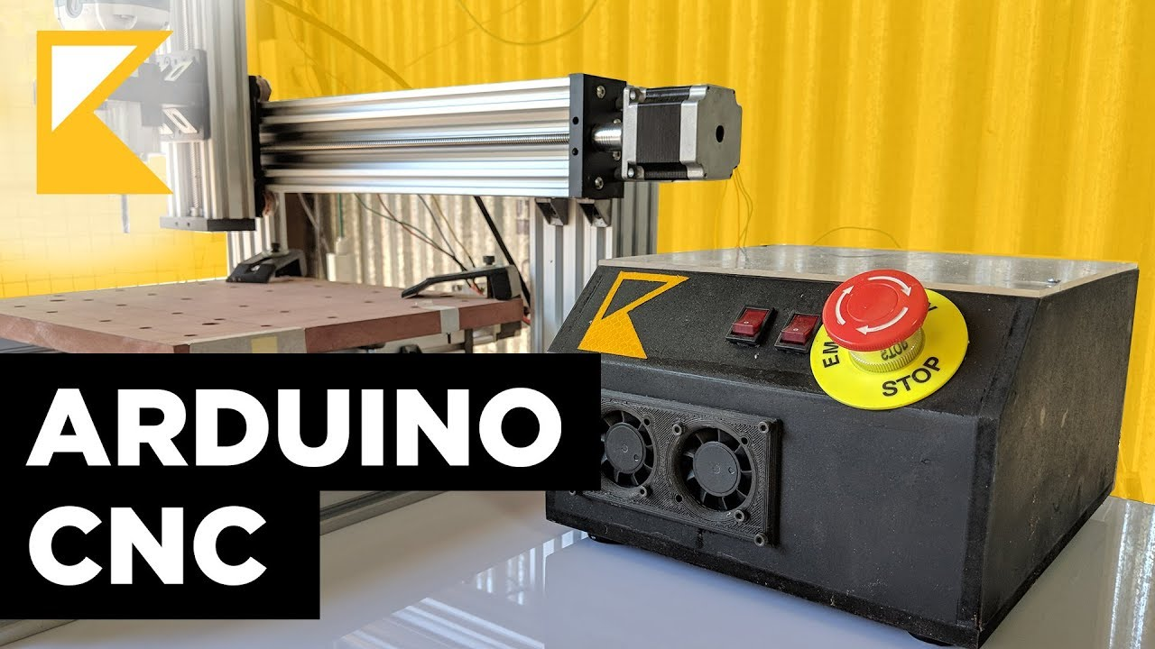 build a cnc controller with arduino tb6600 and grbl [ 1280 x 720 Pixel ]