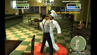 The Godfather (PS2) 16 - Barzini Restaurant (Type A)