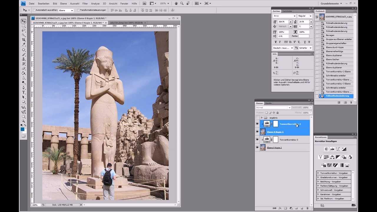 3d Bild Erstellen Anaglyphenbild Photoshop Tutorial Youtube