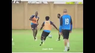 Celebrities Playing Football - Unbelievable Skills