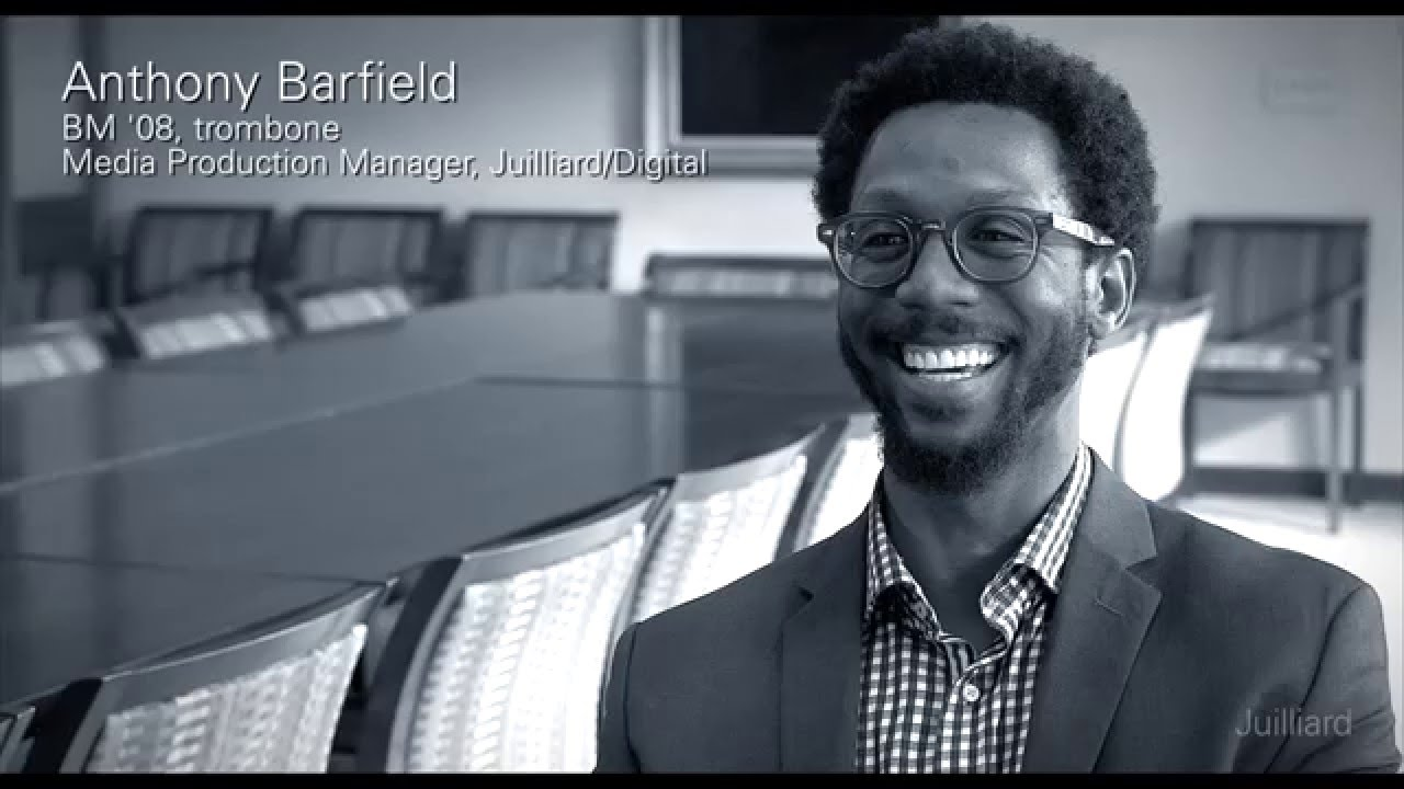 Juilliard Snapshot: Anthony Barfield