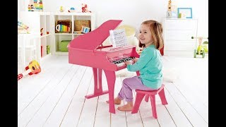 Hape Early Happy Melodies Grand Piano Pink